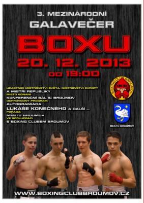 Michal Jarkovský boxuje v pátek 20.12.