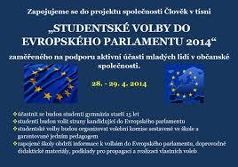 Studentské volby do Evropského parlamentu - pokyny