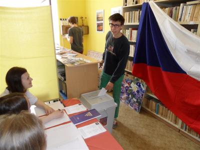 Studentské volby: Volili i oktaváni
