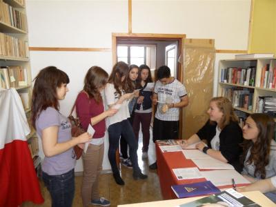 Studentské volby 2014