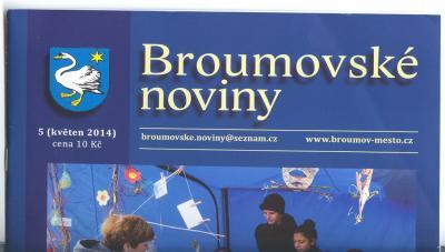 Broumovské noviny: Exploze textů o naší škole