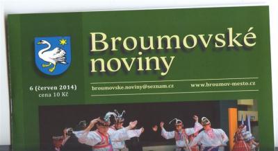 Broumovské noviny: Deset textů o naší škole