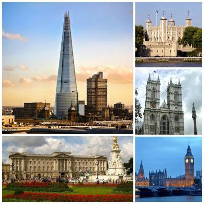 Londýn 2014 - odjezd ve středu 10.září