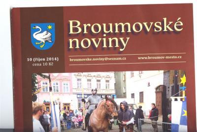Kupte si nové Broumovské noviny