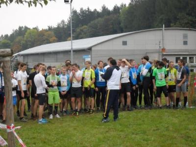Krajské kolo přespolního běhu: Štěpán Štolfa na 5.místě