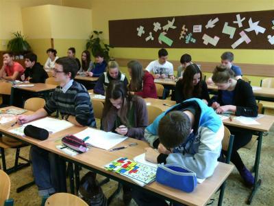 Jeden den na gymnáziu - návštěva ze ZŠ Hronov