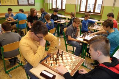 Michal Novotný nejlepším šachistou školy
