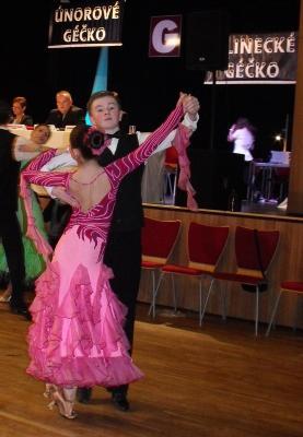 Taneční úspěchy Jindřicha Novotného z tercie