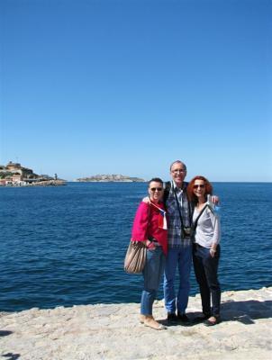 Francií a Monakem s Jitkou Smolíkovou juniorkou