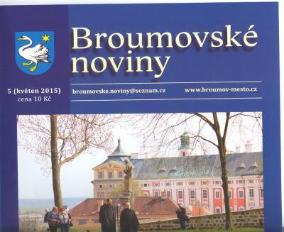 Broumovské noviny: Devět textů o naší škole