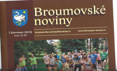 Broumovské noviny: Jedenáct textů o naší škole