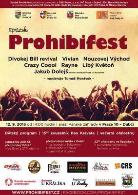 Vivian bude koncertovat v Praze
