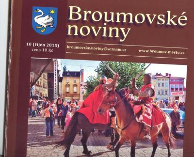 Broumovské noviny: Šest textů o naší škole