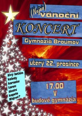(Nejen) vánoční koncert Gymnázia Broumov