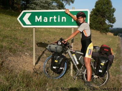 Martin Stiller: Na kole Amerikou