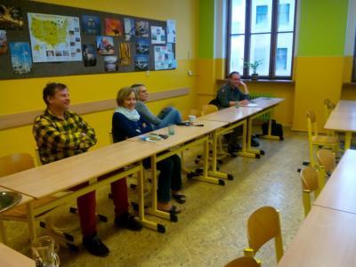 Diskuze o poslání školy a o strategiích jejího rozvoje.