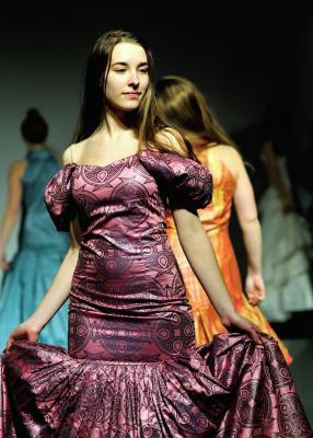 Vítání jara: Naši studenti v roli modelek a modelů