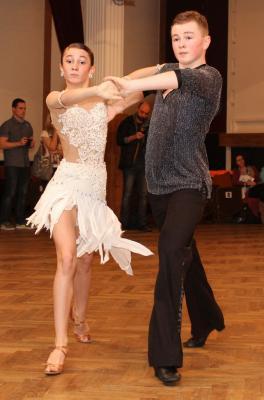 Sourozenci Novotní jsou čerstvými držiteli třídy B v latinskoamerických tancích.