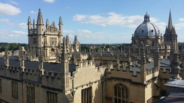 Martina Salašová posílá pozdrav z Oxfordu