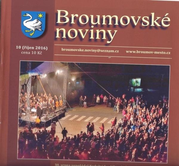 Broumovské noviny opět s výraznou gymnaziální stopou
