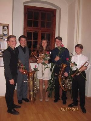 Dittersova soutěž komorních orchestrů:  Třikrát první místo pro naše studenty