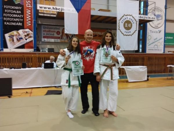 Fantazie: Anna Freiwaldová bronzová na Mistrovství České republiky v judu