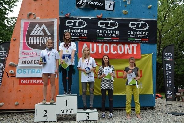 Studují mezi námi: Anna Špreňarová  roste v excelentní lezkyni