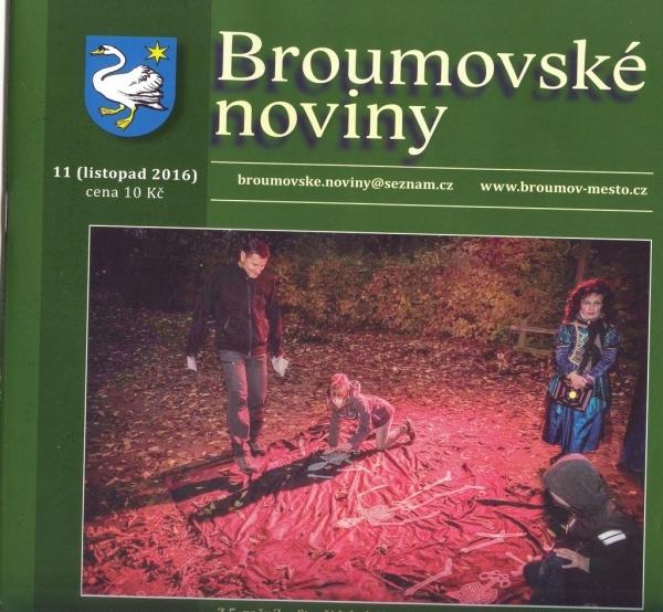 Broumovské noviny: Téměř noviny gymnaziální