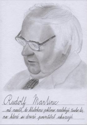 Učí na gymnáziu: Rudolf Martinec