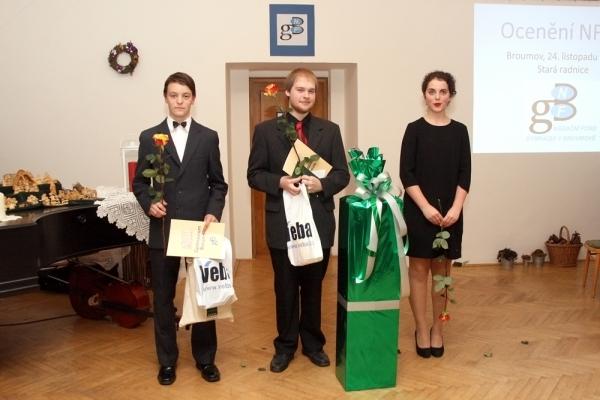 Ocenění nejlepších studentů Gymnázia Broumov