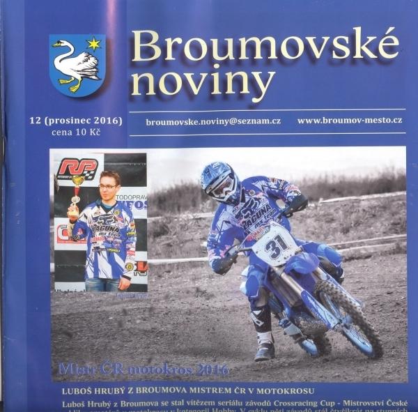 Broumovské noviny: Prosincové číslo již v prodeji