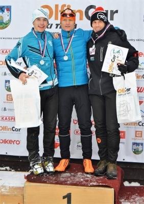 Běh na lyžích: Stříbrný Štěpán Štolfa