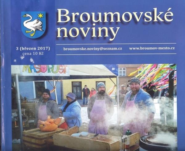 Březnové Broumovské noviny již v prodeji