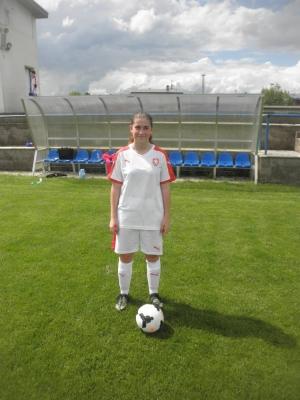 Studují mezi námi - Talentovaná fotbalistka z tercie Sára Grimová