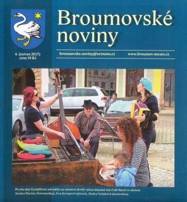 Červnové Broumovské noviny: Jedenáct textů a osm fotografií ze života naší školy