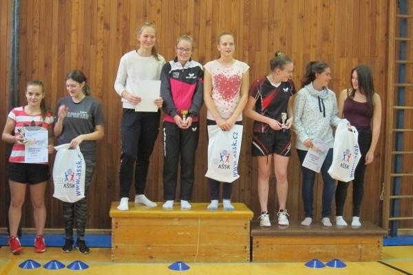 Okresní kolo ve stolním tenise družstev - medailová umístění našich studentů
