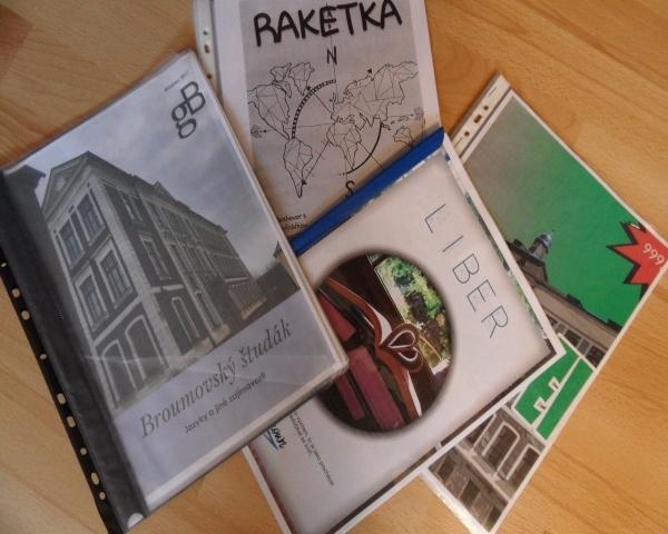 Český jazyk - publicistický styl: Studenti 2.A se mohou pochlubit svými časopisy