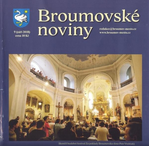 Nové číslo Broumovských novin přináší aktuality ze života naší školy