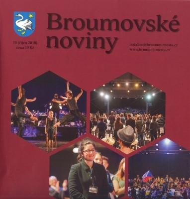 Už jste četli nové Broumovské noviny s deseti texty o našem gymnáziu?