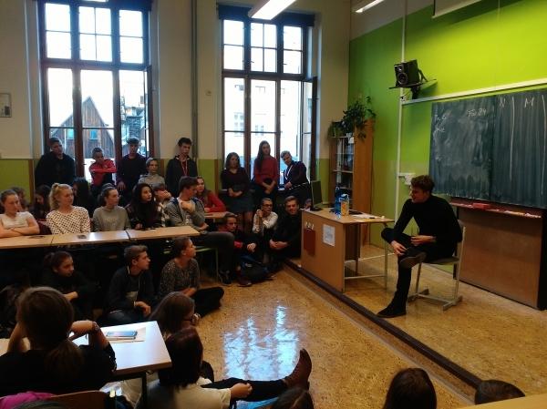 Karel Kovář KOVY: Máte báječné studenty