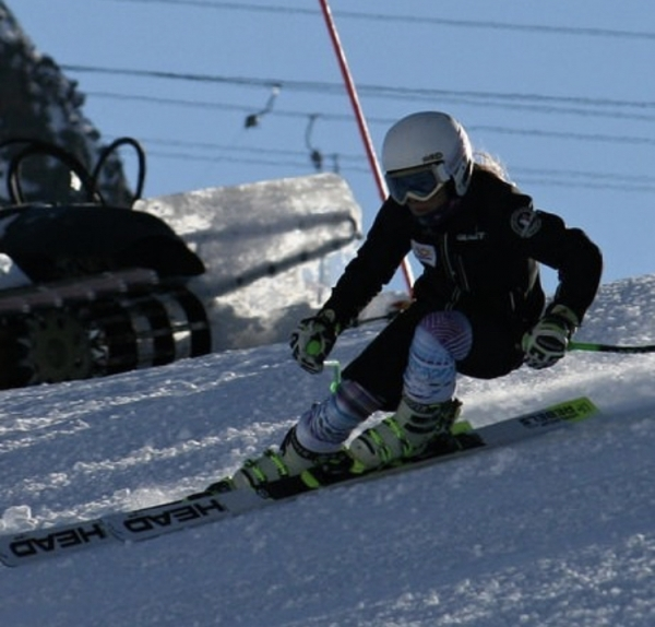 Studují na gymnáziu: Karolína Thérová, nadějná lyžařka