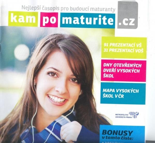 Kam po maturite.cz: Časopis pro budoucí maturanty zdarma k dispozici