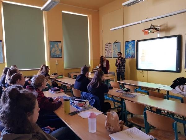 Zpestření hodin anglického jazyka přednáškou o Španělsku a Portugalsku