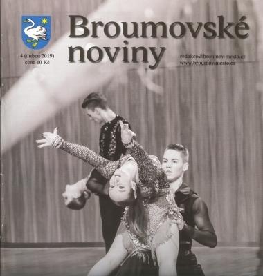 Dubnové Broumovské noviny tradičně s výraznou gymnaziální stopou