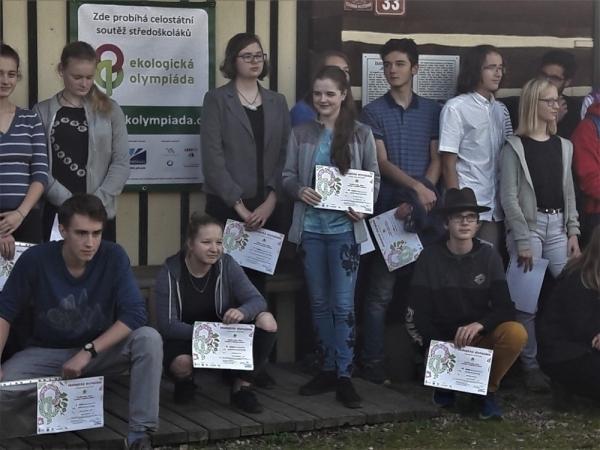 Naše škola se již potřetí zúčastnila krajského kola Ekologické olympiády.