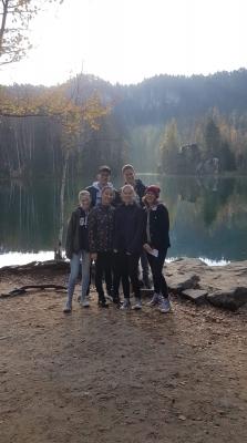 Studenti z Německa po měsíci opět u nás
