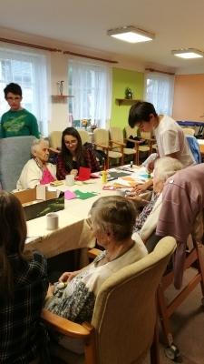 Po roce opět na návštěvě seniorů