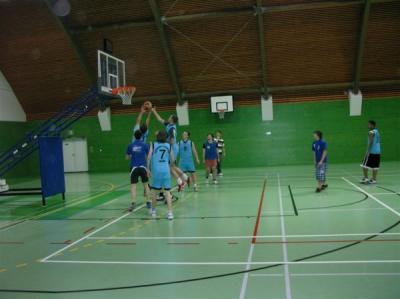 Okresní kolo -basketbal chlapců