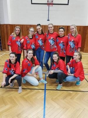 Florbal dívek - okresní kolo - poděkování za reprezentaci školy