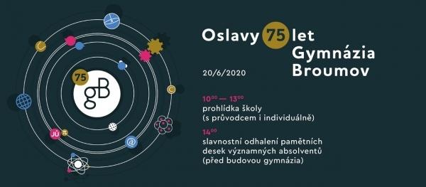 Sobota 20.června: Oslavy 75.výročí Gymnázia Broumov